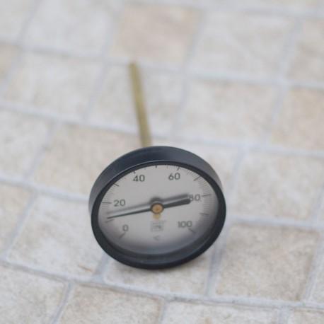 Termómetro Bimetálico de Latón