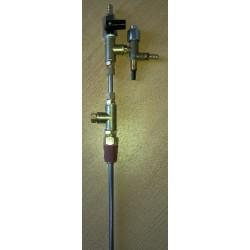 Llenadora a contrapresión semiautomática