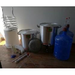 Equipo base de 50 litros