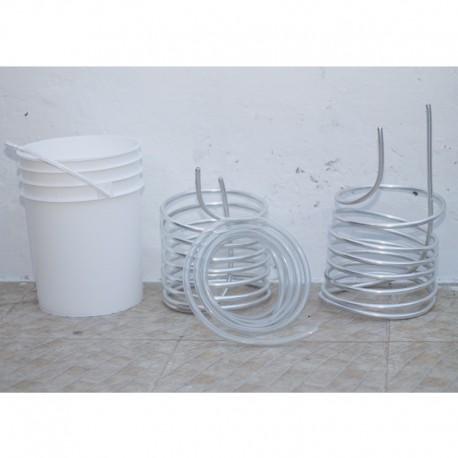 Enfriador de aluminio de 2 etapas