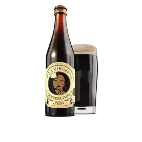 Cerveza Negra fuerte