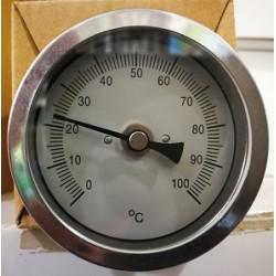 Termómetro Bimetálico de acero