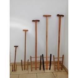 Palas de madera especiales para macerado